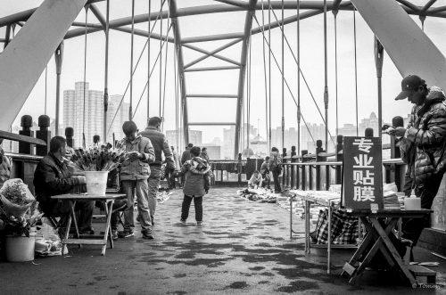 Brückenmarkt, Shanghai, China