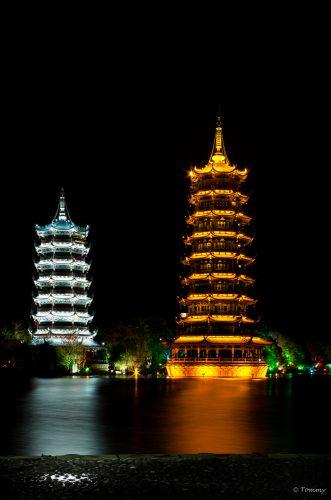 Guilin Towers, Guilin, China