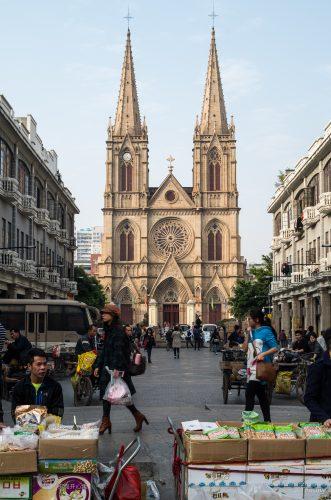 Kirche, Guangzhou, China
