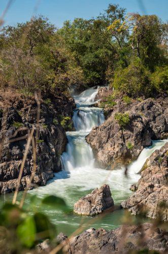 Li Phi Falls, 4000 Islands, Laos
