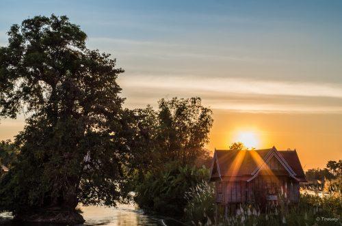 Mekong Sunset, 4000 Islands, Laos