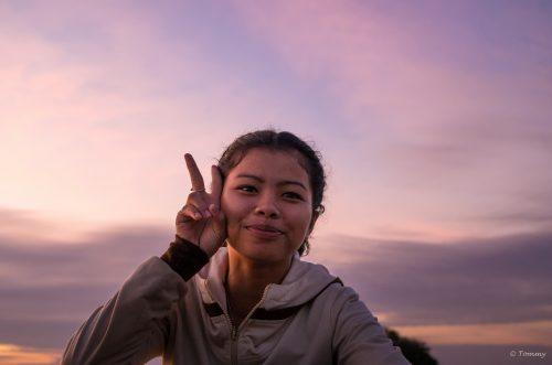 Purple Smile, 4000 Islands, Laos