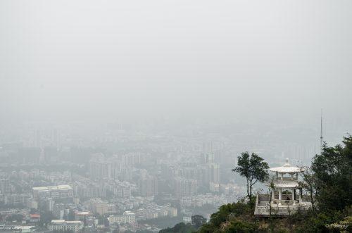 Smog, Guangzhou, China