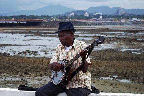 Straßenmusiker, Panama City, Panama