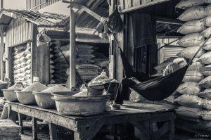 Chilling, Hängematte, Koh Kong, Kambodscha
