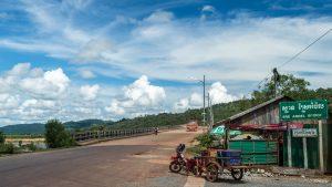 Brücke, Sihanoukville, Kambodscha