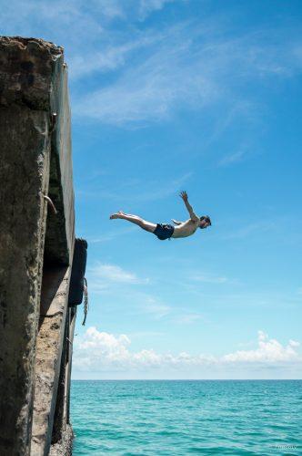 Kopfsprung, Koh Kood, Thailand
