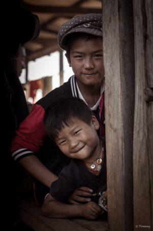 Brüder, Markt, Myanmar, Kalaw, Lake Inle