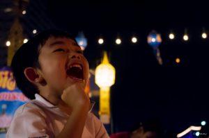 Happy, Loi Krathong, Junge, Chiang Mai, Thailand