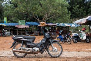 Motorrad, Kambodscha