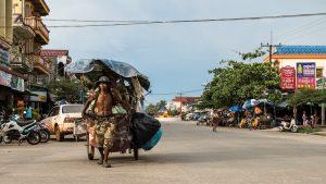 Müllabfuhr, Koh Kong, Kambodscha