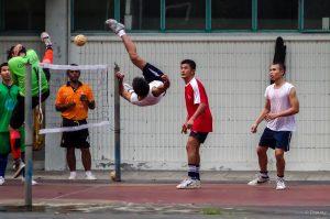 Seprak Takaw, Fußball, Volleyball, Thailand, Bangkok