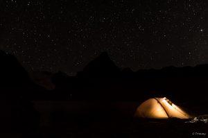 Sternenhimmel, Chiar Khota, Bolivien