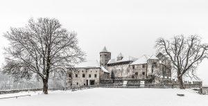 Castle, Burghausen, Winter