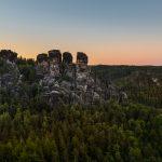 Saxon Suisse, Bastei, Elbe Sandstine Mountains, Landscape